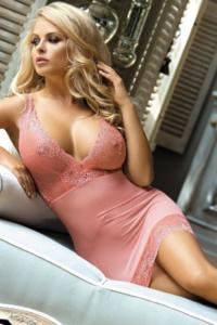 Roze sexy lingerie