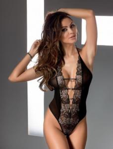 sexy lingerie grijs